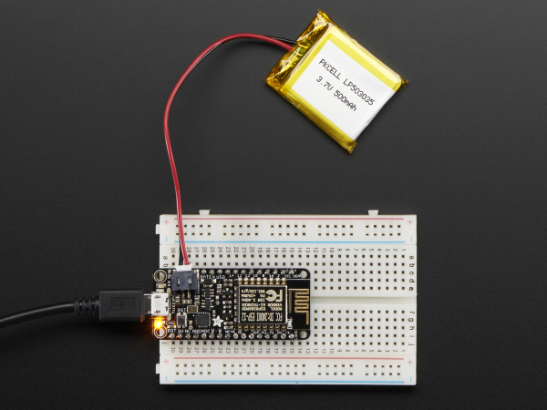Feather HUZZAH cu ESP8266 WiFi 10