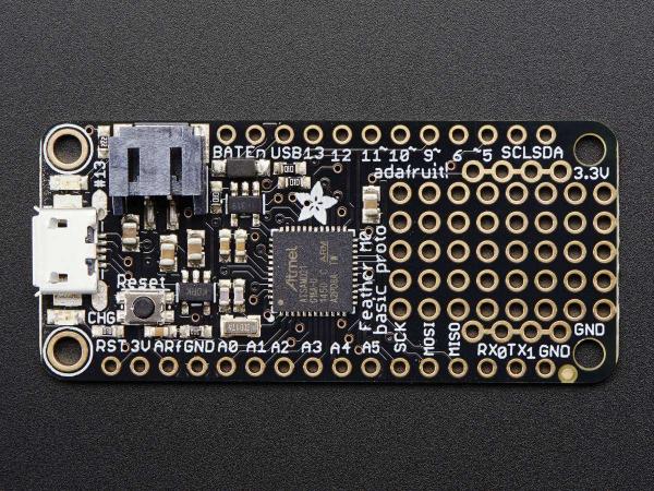 Feather M0 Basic Proto - ATSAMD21 Cortex M0 4