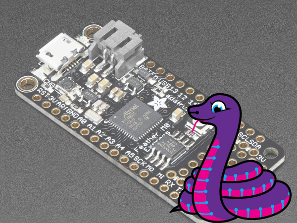 Adafruit Feather M0 Express - CircuitPython - ATSAMD21 Cortex M0 [0]