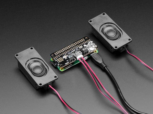 Amplificator  I2S 3W Stereo  Bonnet pentru Raspberry Pi - Mini Kit 0