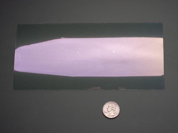 Adafruit ITO folie cu strat de oxid de staniu si indiu - 100 x 200mm [3]