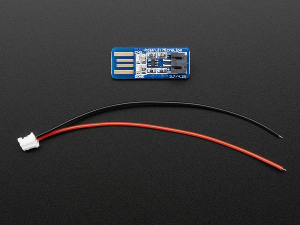 Adafruit Micro Lipo - USB LiIon/LiPoly incarcator - v1 0