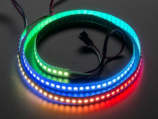Banda 144 LED-uri RGB NeoPixel - 1m Alb 0