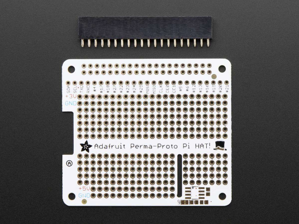 Adafruit Perma-Proto HAT for Pi Mini Kit - No EEPROM 1