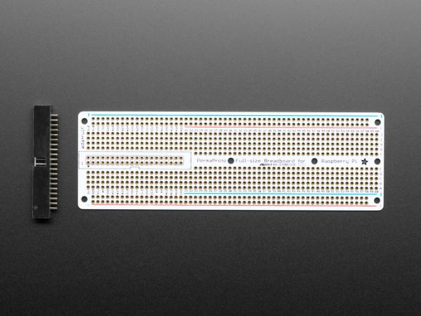 Adafruit Perma-Proto Raspberry Pi PCB kit breadboard 1