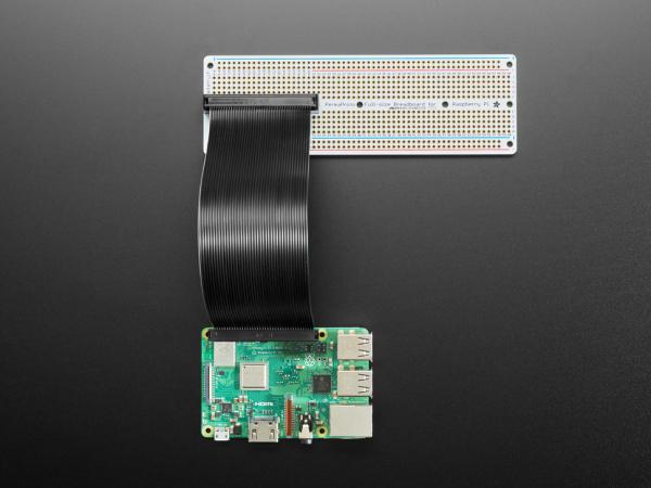 Adafruit Perma-Proto Raspberry Pi PCB kit breadboard 2