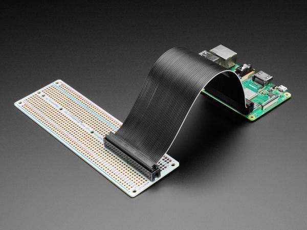 Adafruit Perma-Proto Raspberry Pi PCB kit breadboard 0