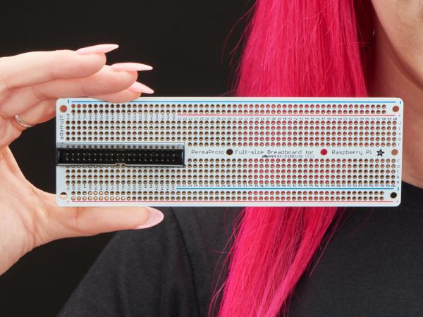 Adafruit Perma-Proto Raspberry Pi PCB kit breadboard 3