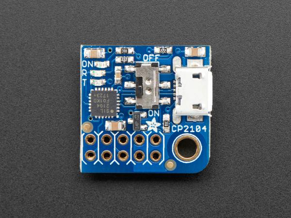 Adafruit PiUART - USB Console Power Add-on pentru Raspberry Pi 4