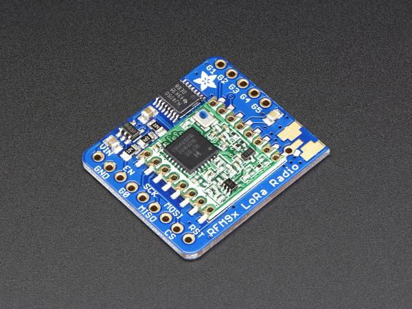 Adafruit RFM95W LoRa Radio Transceiver Breakout - 868 sau 915 MHz 0