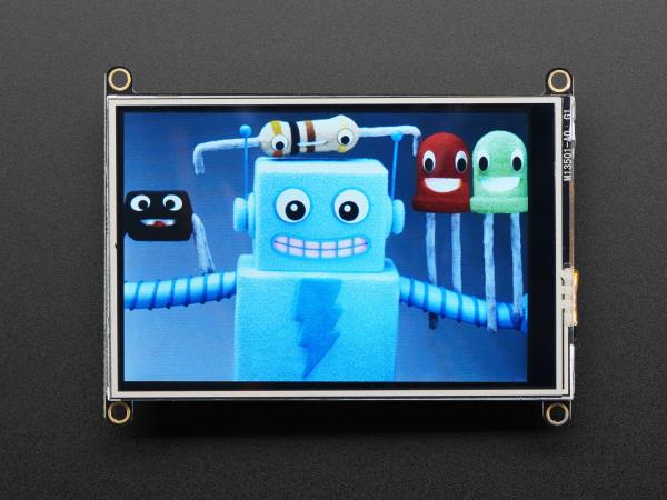 """Adafruit TFT FeatherWing - 3.5"""" 480x320 Touchscreen pentru placile  Feather [0]"""