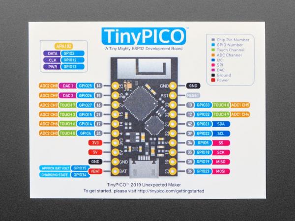 Adafruit TinyPICO placa dezvoltare ESP32 4