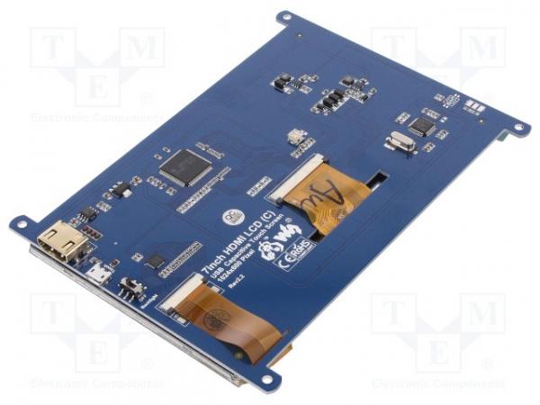 Afisaj TFT-LED de 7 inci Waveshare 11199 1