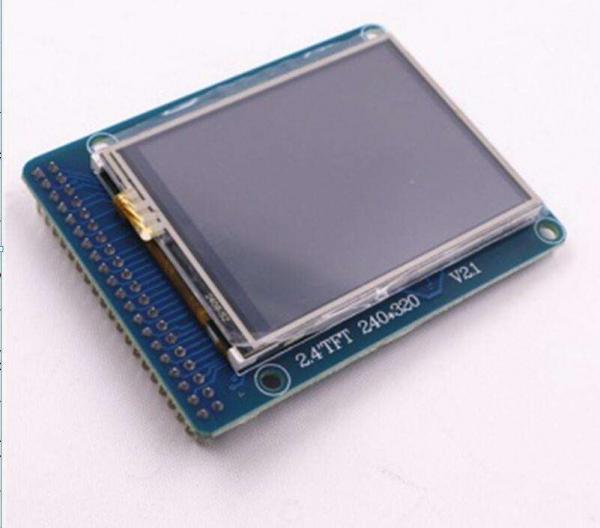 "Afisaj touchscreen LCD color, de 2.4"", pentru Arduino Uno R3 1"