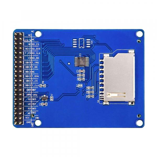 "Afisaj touchscreen LCD color, de 2.4"", pentru Arduino Uno R3 2"