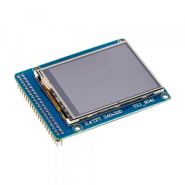 "Afisaj touchscreen LCD color, de 2.4"", pentru Arduino Uno R3 3"