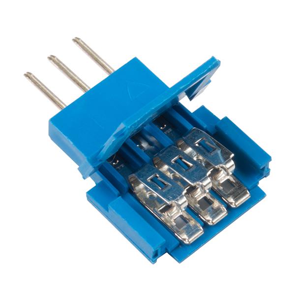 Conector Tata 3 pozitii Clincher Amphenol FCI [0]