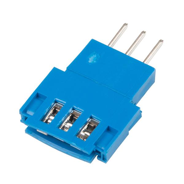 Conector Tata 3 pozitii Clincher Amphenol FCI [2]