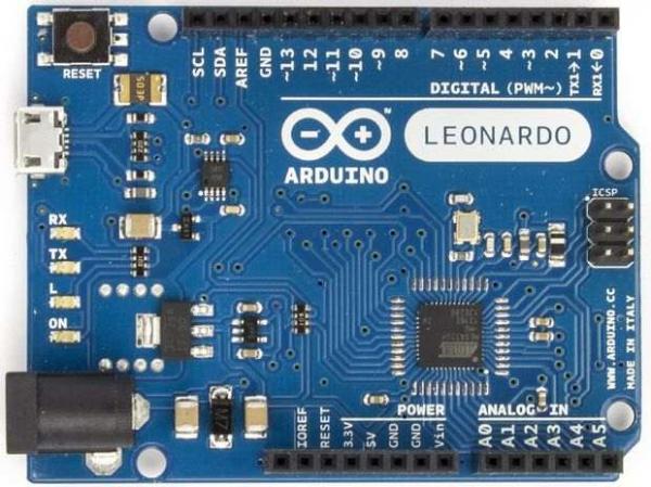 Arduino Leonardo, varianta completa 0