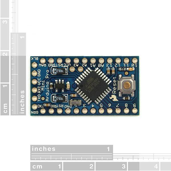 Arduino Pro Mini 328 - 3.3V/8MHz 1