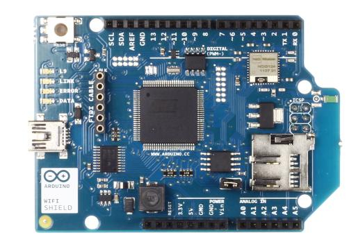 RETRAS - Arduino Wifi Shield 0