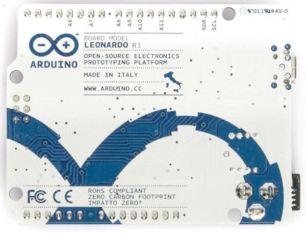 Arduino Leonardo, varianta completa 1