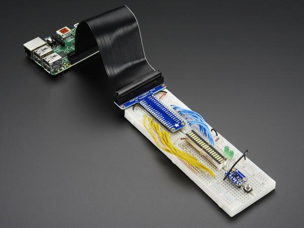 Pi T-Cobbler Plus - GPIO - pentru RasPi A+/B+/Pi 2/Pi 3 4