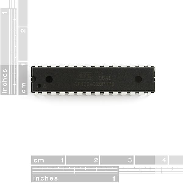AVR 28 Pin 20MHz 32K 6A/D - ATMega328P 1