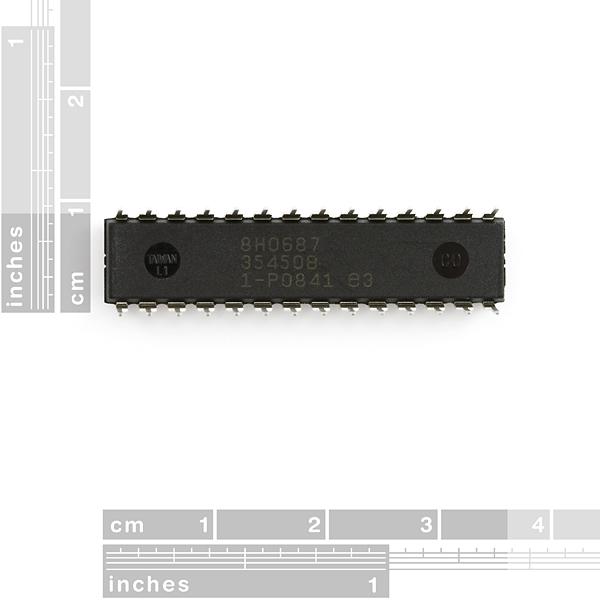 AVR 28 Pin 20MHz 32K 6A/D - ATMega328P 2