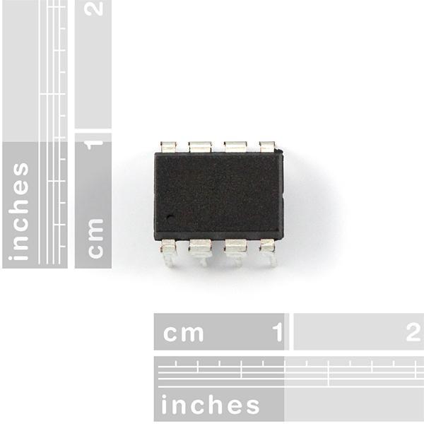 AVR cu 8 pini 20MHz 8K 4A/D - ATtiny85 1
