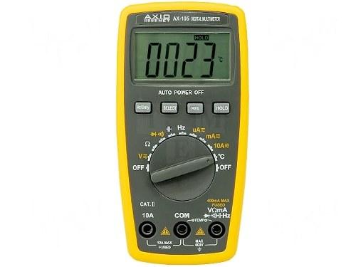 Multimetru Digital de Precizie AX105 ( + Sonda Temperatura) 0