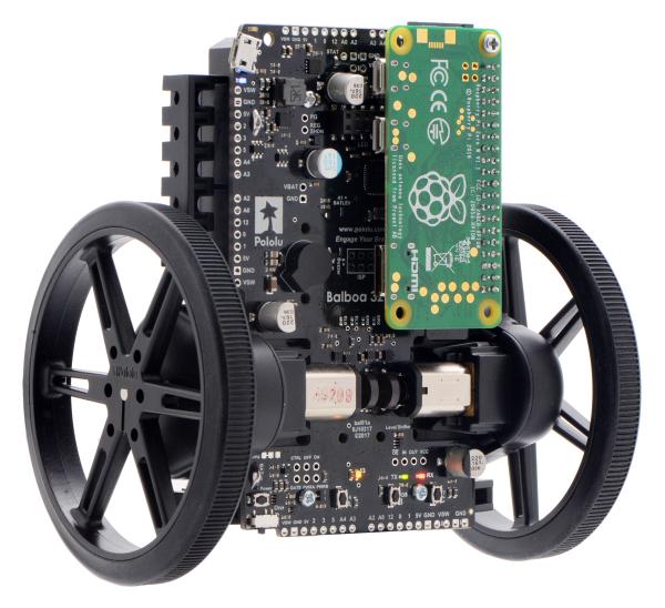 Balboa 32U4 Self Balancing Robot Kit (Fara motoare si fara Roti) 10