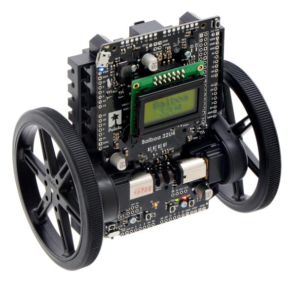 Balboa 32U4 Self Balancing Robot Kit (Fara motoare si fara Roti) 8