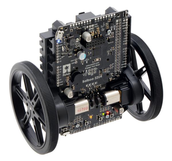 Balboa 32U4 Self Balancing Robot Kit (Fara motoare si fara Roti) 7
