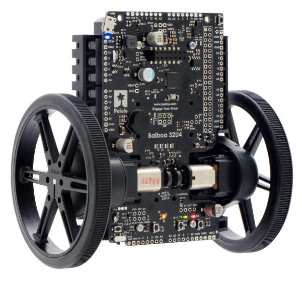 Balboa 32U4 Self Balancing Robot Kit (Fara motoare si fara Roti) 0