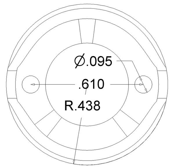 Ball Caster 19.5 mm 3