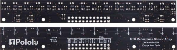 Bara senzori linie analogici 16 QTR-MD-16A [1]