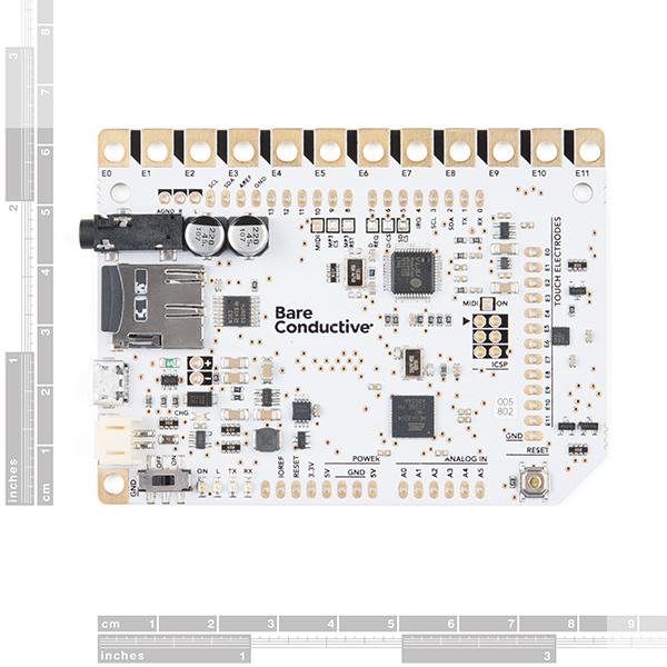 Bare Conductive Touch Board Pro kit prototipare 2