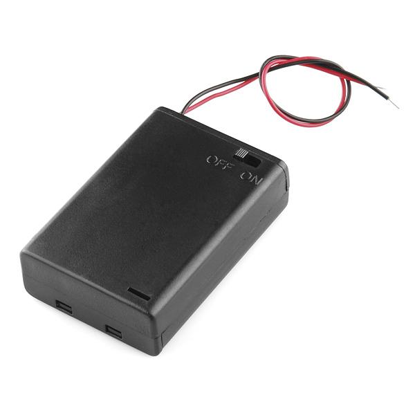 Battery Holder 3xAA cu Switch [0]
