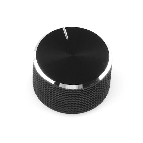 Black Metal Knob - 14x24mm [0]