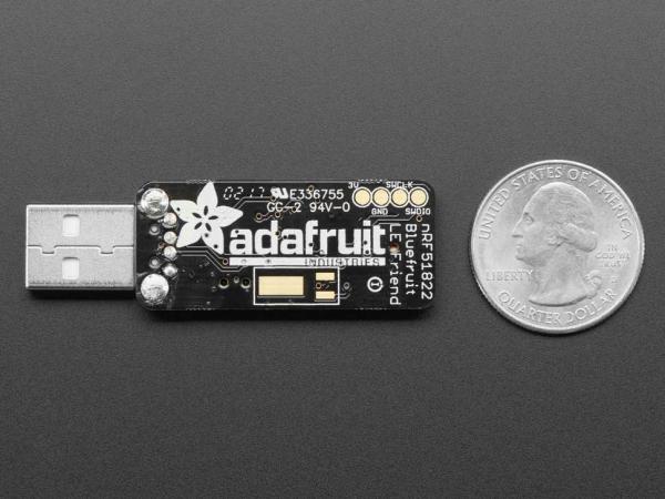 Placa adaptor Bluefruit LE Friend - Bluetooth Low Energy (BLE 4.0) - nRF51822 - v3.0 1
