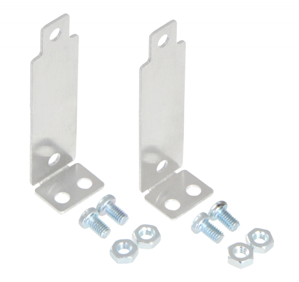 Bracket Pair for Sharp GP2Y0A02, GP2Y0A21, and GP2Y0A41 Distance Sensors - Perpendicular 0
