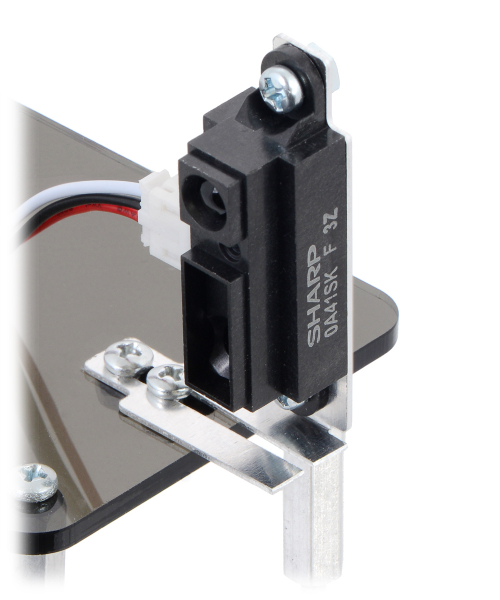 Bracket Pair for Sharp GP2Y0A02, GP2Y0A21, and GP2Y0A41 Distance Sensors - Multi-Option [2]