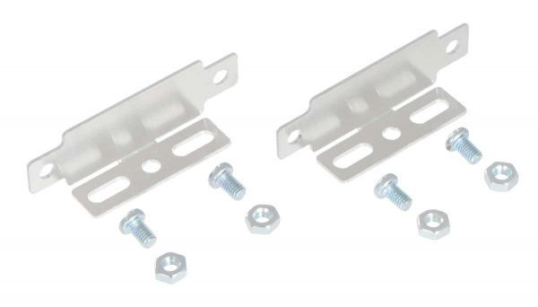 Bracket Pair for Sharp GP2Y0A02, GP2Y0A21, and GP2Y0A41 Distance Sensors - Parallel 0