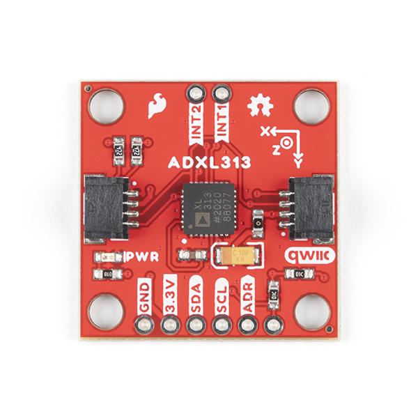 Breakout accelerometru digital, cu 3 axe, SparkFun ADXL313 2