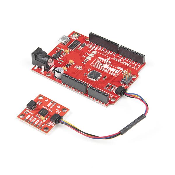 Breakout accelerometru digital, cu 3 axe, SparkFun ADXL313 4