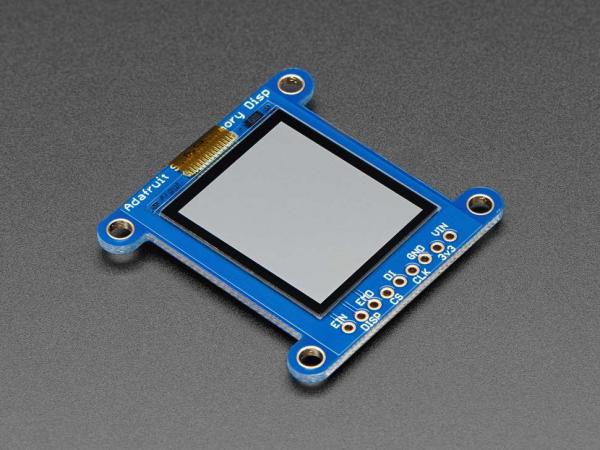 Breakout afisaj LCD SHARP monocromatic, de 1.3 inch, cu memorie [4]
