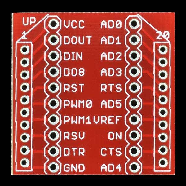 Breakout Board pentru modulul XBee 2