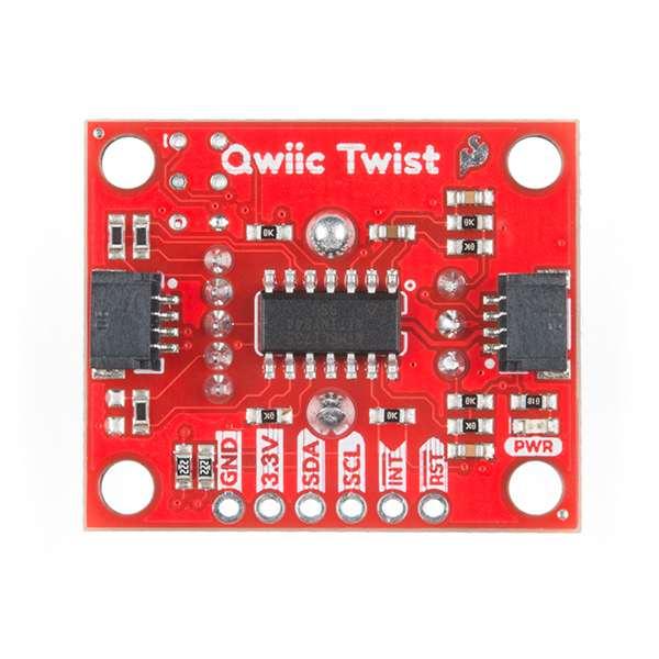 Breakout encoder rotativ RGB SparkFun Qwiic Twist [3]