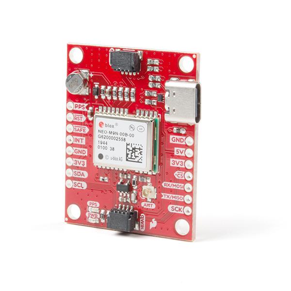 Breakout GPS SparkFun NEO-M9N, U.FL (Qwiic) 0